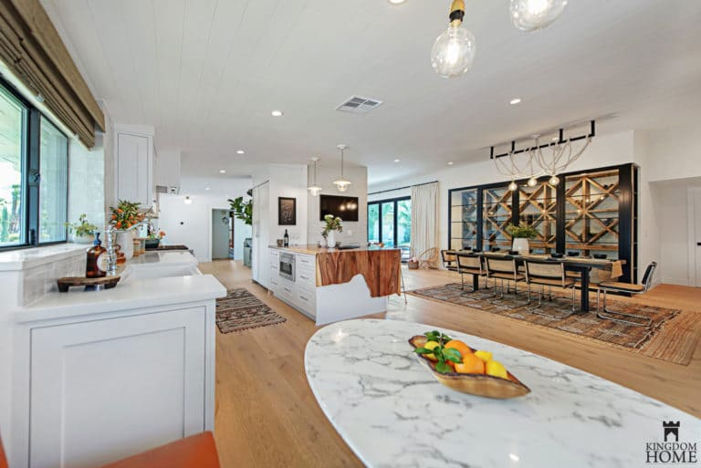 kitchen, Property Brothers Renovated Home in Las Vegas