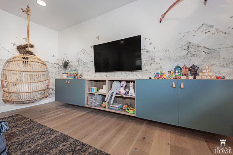 kids room, Property Brothers Renovated Home in Las Vegas