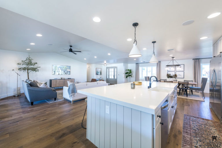 kitchen , renovated home in Las Vegas