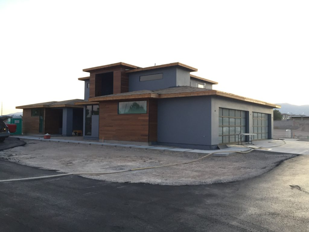 newly built home in las vegas