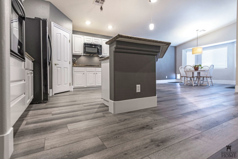 renovated kitchen and flooring las vegas