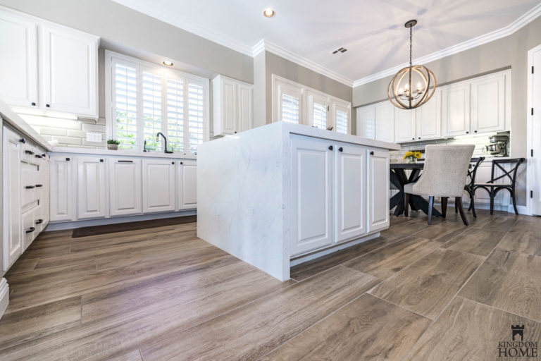 renovated kitchen and flooring in Las Vegas