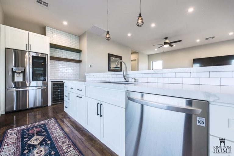 new construction kitchen