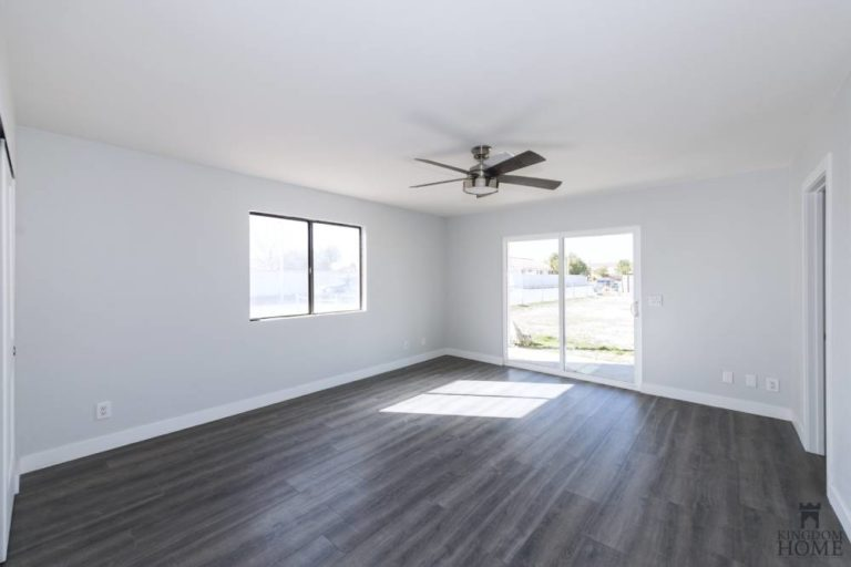 wood flooring, remodeled home in Las Vegas