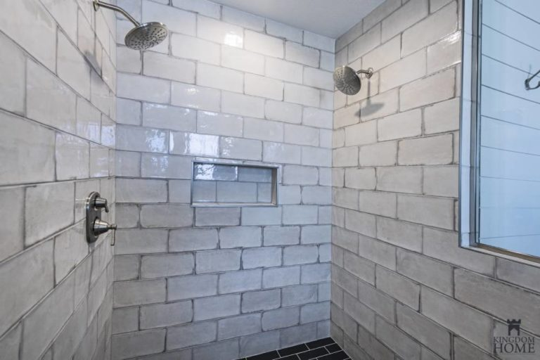 shower, remodeled home in Las Vegas