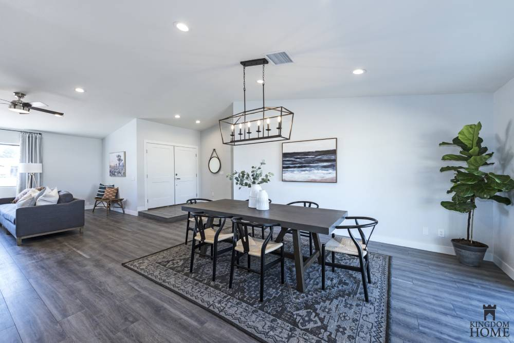 dining room, remodeled home in Las Vegas