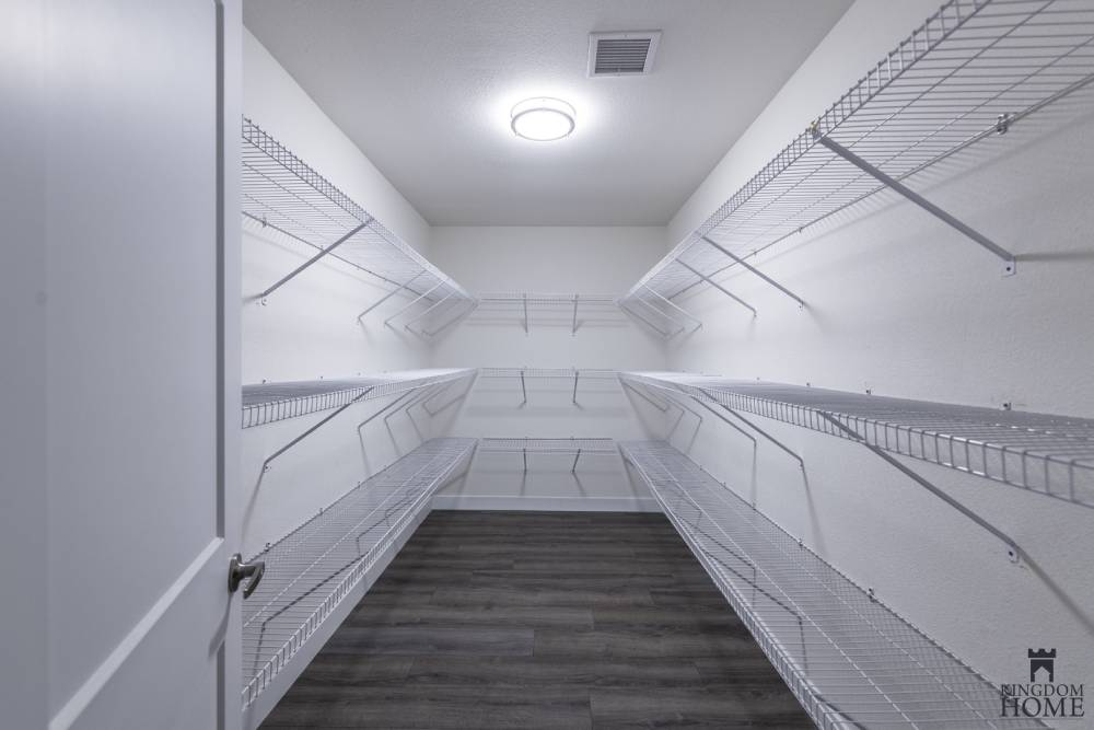closet, remodeled home in Las Vegas